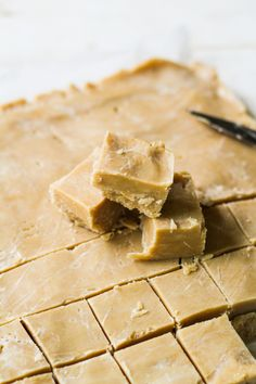 10-Minute Peanut Butter Fudge {Katie at the Kitchen Door}