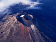 Young Volcano of Mount Ngauruhoe, Tongariro National Park, Manawatu-Wanganui, New Zealand