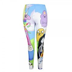 Adventure Time Leggings From WeLoveFine