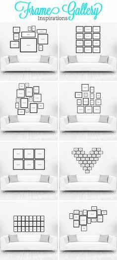 Wall design living room - 20 creative wall decor ideas - Wandgestaltung Wohnzimmer – 20 kreative Wanddeko Ideen living room wall design with pictures order order