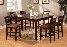 Enchanting Counter-height dining set lucy