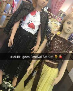 Monnalisa goes #festival #fashion at #MLBH #Jakioo #teen  (at Monnalisa Beverly Hills)