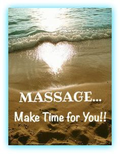 Massage... One of the worlds great healing remedies.