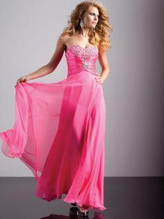 e1b62dcee860 A-line Sweetheart Hot Pink Chiffon Prom Dress Formal Dress/ Evening Dress  Fant 93209