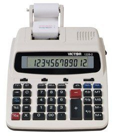 Calculators by Victor. $51.48. CalculatorsVICTOR 1228-2 12 DIGIT - COMMERCIAL DESKTOP/PRINT***This item is expected to deliver in 3-8 business days. Tracking information is usually sent within 3-5 business days from the date of the purchase. This item does not ship to Alaska or Hawaii. The item also does not ship to P.O. boxes or APOs.***. Save 40% Off!