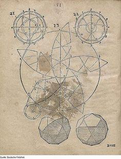 DropSea: Pentafoglio, da Geometria di Augustin Hirschvogel
