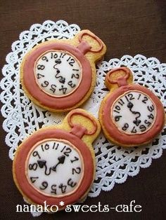 Posted everyone woman Excite   icing cookies Alice Fantasy & Watches