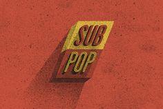 Retro, 'Batman'-Inspired Typographic Redesigns Of Record Label ...