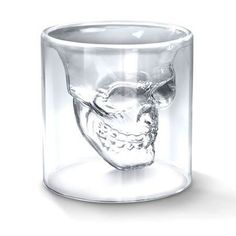 Hot Special Transparent Crystal ᗖ Skull Head Shot Glass Cup ᗗ For Whiskey Wine Vodka Home Drinking WareHot Special Transparent Crystal Skull Head Shot Glass Cup For Whiskey Wine Vodka Home Drinking Ware