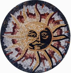 Hey, I found this really awesome Etsy listing at https://www.etsy.com/listing/182626844/sun-accent-mosaic-for-home-decor