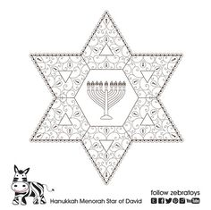 Menorah Printable Hanukkah Prayer Hanukiah Healing Art Hanukkah