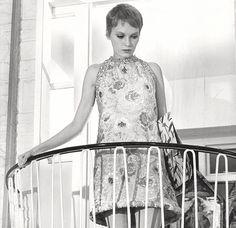 Mia Farrow in A Dandy in Aspic, 1968