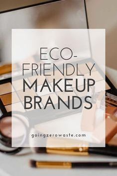 10 Zero Waste Makeup Brands - Going Zero Waste - I've been doing a lot of research on zero waste makeup and I'm sharing 10 eco-friendly makeup b - All Natural Skin Care, Natural Beauty Tips, Be Natural, Health And Beauty Tips, Clean Beauty, Eco Beauty, Beauty Ideas, Natural Makeup, Eco Friendly Makeup