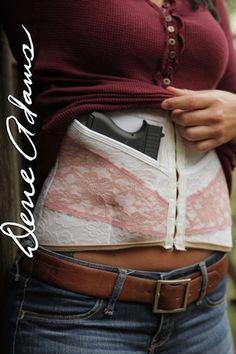 DeneAdams.com Conceal Carry Corsets for women.