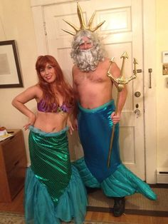 King Triton/Poseidon costume CAN SHIP TOMORROW by Icecreamcastle