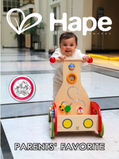 Wonder Walker Parents' Choice Approved Award  Hape Wooden Toys Last Forever...   Join us on Instagram @ilovehape #ilovehape Chat with us on Twitter #hapetoys Glance through our inside pics on Pinterest #hapetoys Discover our Hollywood Studio Videos on youtube #hapetoys  #wonderwalker #Hape #woodentoys #Hapetoys #ilovehape #Parentschoice #astratoy #walker #toddler #babies #gift #babyshower #birthday #birthdaygift #besttoys #Germany #News
