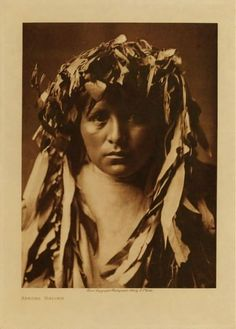 American Indians : Apache Maiden.