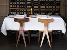 A reader asked about the chairs pictured in our Ilse Crawford's Olde Bell Inn post. The chair in question? It's the Fin Dining Chair by UK designer Matthew Chair Pictures, Kitchen Dining, Dining Room, Modern, Dining Chairs, Furniture Design, Interior Design, Projects, House