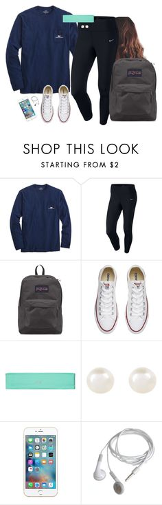 """Cool Monday morning"" by aweaver-2 on Polyvore featuring Vineyard Vines, NIKE, JanSport, Converse, Victoria's Secret and Accessorize"