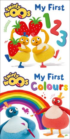 5* Review – My First 123, My First Colours – (Twirlywoos)