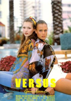 burn your mind: 90s Versace Kate Moss