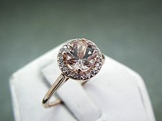 ♡ Round #engagement #wedding #Ring ... For wedding ideas, plus how to organise an entire wedding, within any budget ... https://itunes.apple.com/us/app/the-gold-wedding-planner/id498112599?ls=1=8 ♥ THE GOLD WEDDING PLANNER iPhone App ♥  For more wedding inspiration http://pinterest.com/groomsandbrides/boards/ photo pinned with love & light, to help you plan your wedding easily ♡