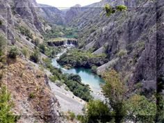 Zrmanja Waterfalls, Zrmanja Canyon, Croatia