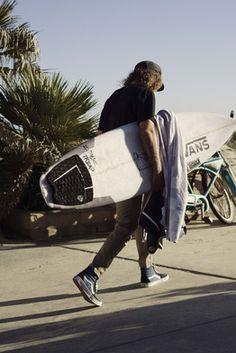 Vans Surf's Wade Goodall.