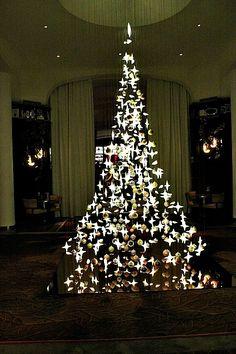 Le Royal Monceau Paris - Get Ready For PARIS- Beautiful! A tree of stars!