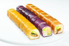Sushi de colores en los restaurantes Sushi Itto. Curioso!