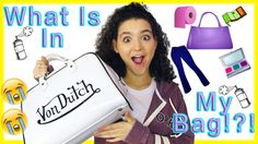 What's In My Bag Tag | Vivian King