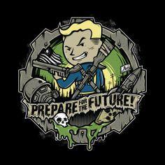 #Fallout: Vault Boy t-shirt.