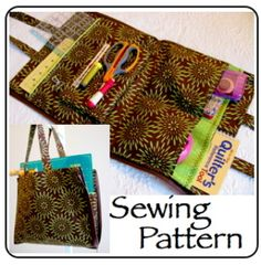 Quilters Tool Tote   YouCanMakeThis.com
