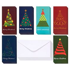 36-Pack Merry Christmas Greeting Cards - Xmas Money and G... http://amzn.to/2AWbjUh