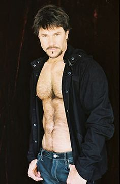 Peter Reckel as Bo Brady on Days of Our Lives - the other half of super-couple Bo and Hope.