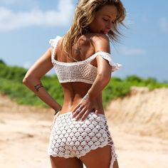 Image of Candice lace up shorts