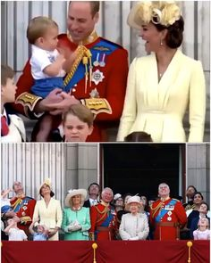 Video Clip: Trooping the Colour 2019 Casual Kate Middleton, Kate Middleton Pregnant, Estilo Kate Middleton, Kate Middleton Wedding, Kate Middleton Outfits, Princess Kate Middleton, Prince George Baby, Prince William Family, Prince Andrew