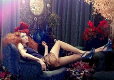 Lily In The Sky With Diamonds| Lily Cole by Michael Labica & Sandrine Dulermo for Plastic Dreams Fall 2011