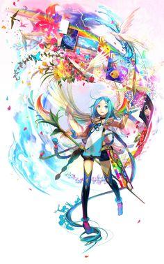 Angelic Artist by Fuji Choko