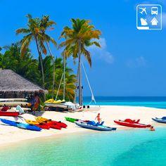 O seu dia de descanso pede aventura e as Ilhas Maldivas são o lugar para desfrutar de sofisticação, conforto e muita energia positiva! Que tal um super mergulho em um paraíso natural? Ou uma volta de caiaque? Programe a sua próxima aventura na Clube Turismo mais perto de você!