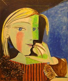 Pablo Picasso. Portrait of Marie-Therese Walter, 1937