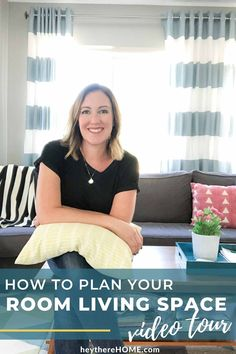 Let's talk room planning! This video shows you how to design and plan your room to function just the way you want it! #video #hometour #roomdesign