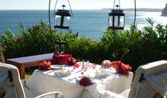 Candle Light Dinner - Restaurant in Lagos Algarve - Romantik Hotel Vivenda Miranda