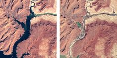Rising Temperatures to Blame for Water Loss in Colorado River| Altogether, the river supplies water to seven U.S. states and two in Mexico, and 40 million people rely on it for their water. But the entire Colorado River basin has been experiencing sustained drought since 2000. And somewhere between one sixth and one half of this liquid loss can be put down to global warming, scientists said. They publish their findings in the journal Water Resources Research.