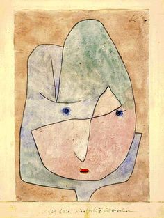 Paul Klee - This Flower Wishes to Fade, 1939.