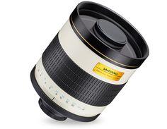 Samyang 800mm MC IF f/8 Mirror to teleobiektyw lustrzany o ogniskowej 800 mm specjalnie do maksymalnych zbliżeń. Model jest przeznaczony dla aparatów wyposażonych w matrycę pełnoklatową lub APS-C. Dzięki uniwersalnemu mocowaniu T-mount, obiektyw poprzez adapter...