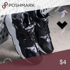 TRADING huraches trading black camo huraches Nike Shoes Sneakers Camouflage  Opdruk cbffe4efad23