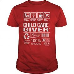 Awesome Tee For Child Care Giver - #tee times #kids t shirts. ORDER NOW => https://www.sunfrog.com/LifeStyle/Awesome-Tee-For-Child-Care-Giver-103440131-Red-Guys.html?60505