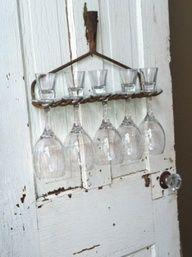 shabby chic decor, this is cool..