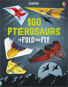 """pterosaurs to fold and fly"""" at Usborne Children's Books Creative Activities, Book Activities, Recorded Books, Electronic Gifts, Friends Show, School Fun, Creepy, The 100, Patterns"""